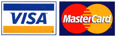 Visa and          Mastercard are accepted here